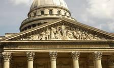 """Panteonul Republicii Franceze. """"Marilor oameni, patria recunoscătoare"""""""