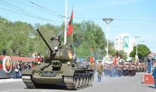 Tiraspolul a sărbătorit cu mare fast cea de-a 25 aniversare a așa-zisei sale independențe