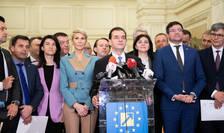 Guvernul Orban II, la vot în Parlament, pe 24 februarie (Sursa foto: gov.ro)