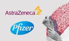 Vaccinuri Pfizer și AstraZeneca
