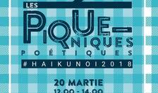 Afiș Picnic poetic - haikunoi 2018