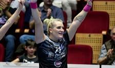 Cea mai bună marcatoare a României a fost Crina Pintea, cu cinci reușite