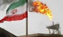 Platforma petroliera iraniana în Golful Persic