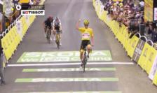Tadej Pogacar câștiga etapa 18 a Turului Franței