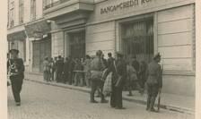 Pe 29 iunie 1941, pe str. Vasile Alecsandri la intersecția cu str. Cuza Vodă, treceau convoaie de evrei spre Chestură.