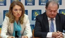 Copreşedinţii PNL, Alina Gorghiu şi Vasile Blaga