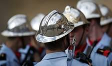 Pompieri francezi se pregatesc pentru a 206-a ceremonie a Brigazii de Pompieri din Paris, 18 septembrie 2017.
