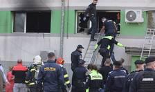 La sectia ATI a Spitalului de boli infectioase din Constanta 7 oameni au murit intr-un incendiu.