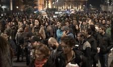 Proteste de stradă, în Bucureşti