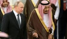Presedintele rus Vladimir Putin a fost primit cu mare pompa la Riad, Arabia Saudita, într-o vizita istorica, o premiera în ultimii 12 ani.