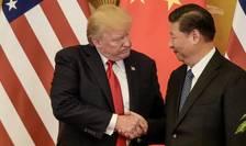 Presedintii Donald Trump si Xi Jinping la Beijing în noiembrie 2017
