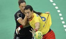 Cristina Neagu, în timpul meciului România-Muntenegru, la Olimpiada de la Rio (Foto: Reuters/Marko Djurica)