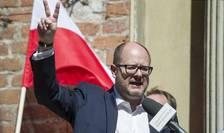 Primarul oraşului Gdansk, Pawel Adamowicz, aici în aprilie 2018 (Foto: AFP/Simon Krawczyk)