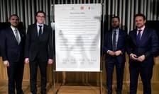 Primarul din Praga, Zdenek Hrib si cel al Budapestei - Gergely Karacsony, primarul Bratislavei - Matus Vallo si cel al Varsoviei, Rafal Trzaskowski au semnat un pact al oraselor libere pentru a se apropia de UE.