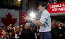 Primele rezultate arata ca premierul canadian Justin Trudeau a fost reales dar nu va dispune de un parlament majoritar.