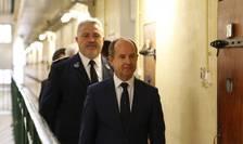 Ministrul francez al Justitiei, Jean-Jacques Urvoas, în vizità la închisoarea Fresnes, 20 septembrie 2016