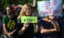Protest la Paris, în iulie 2019, pentru a se atenționa asupra numărului tot mai mare al femeilor ce sunt omorâte de soț ori de partenerul de viață.