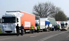 Miting de amploare astazi in Bucuresti al transportatorilor