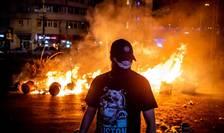 Cine erau protestatarii care s-au bătut cu jandarmii la mitingul de vineri, 10 august 2018? (Foto: AFP/Andrei Pungovschi)