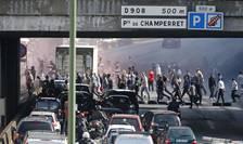 Taximetriştii parizieni protestează contra Uber (Foto: Reuters/Charles Platiau)