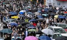 Proteste la Hong Kong, 24 mai 2020.