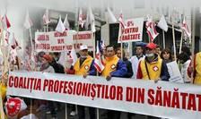 Miting Sanitas, colaj, imagine de arhivă (Sursa foto: Facebook/Sanitas București)