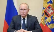 Vladimir Putin, presedintele Rusiei, 25 martie 2020.