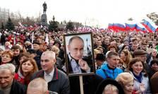 Manifestatie pro-Putin la Sevastopol cu ocazia aniversàrii a 4 ani de la anexarea Crimeeii, 14 martie 2018
