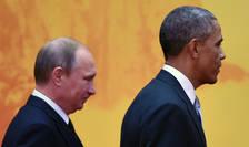 Dosarul sirian în centrul discutiilor dintre Vladimir Putin si Barack Obama