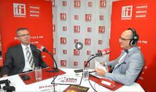 Radu CRĂCIUN si Sergiu COSTACHE in studioul RFI Romania la Ora de risc