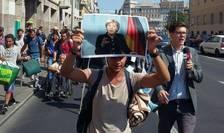 Refugiatii vor sa ajunga in Germania