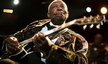 Legenda muzicii blues, B.B. King, aici în 2011 (Foto: Reuters/Valentin Flauraud/arhivă)