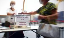 Aproape 67% dintre francezi nu au fost la vot la primul tur al regionalelor.