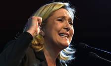 Marine Le Pen, presedinta Frontului national, partidul extremei drepte franceze