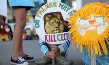 Proteste în SUA, după uciderea leului Cecil (Foto: Reuters/Eric Miller)