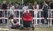Imigranţi în Germania (Foto: Reuters/Hannibal Hanschke)