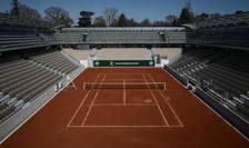Terenul Simonne Mathieu din incinta Roland-Garros