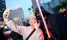"Fani Star Wars, la premiera ""Rogue One"", în California (Foto: Kevork Djansezian/Getty Images North America/AFP)"