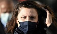 """Roxana Màràcinenau, ministra sporturilor din Franta (aici, la Toulouse în noiembrie 2020) propune """"meciuri-test"""" cu spectatori în tribune."""
