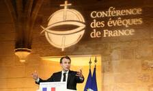 Discurs al lui Emmanuel Macron la Conferinta episcopilor din Franta, luni 9 aprilie 2018
