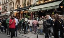 Rue de Buci, arondismentul VI din Paris, 21 februarie 2021.