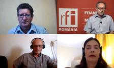 Constantin Rudnitchi, Mihaela Gherghisan si invitatii emisiunii Rural captura live din Zoom