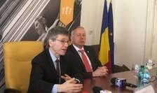 Profesorul Jeffrey Sachs, de la Universitatea Columbia din Statele Unite ale Americii, a devenit Doctor Honoris Causa al Universităţii Babeş-Bolyai din Cluj-Napoca