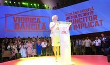 Viorica Dăncilă, lansată oficial drept candidata PSD la Președinție, la Congresul din 24 august 2019 (Sursa foto: Facebook/PSD)
