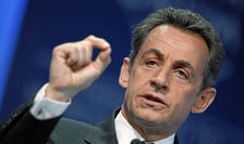 Fostul preşedinte francez Nicolas Sarkozy