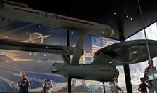 Nava USS Enterprise din Star Trek, la Smithsonian Air and Space Museum din Washington (Foto: Reuters/Kevin Lamarque)