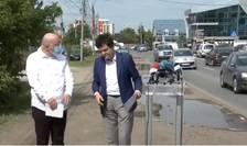 Aurelian Bădulescu și Nicușor Dan, scandal în Prelungirea Ghencea (Foto: Digi 24)