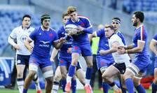 Imagine din meciul Scoția - Franța din martie 2020
