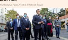 Scrisoarea transmisà de Emmanuel Macron, presedintele Frantei, cotidianului britanic Financial Times, 4 noiembrie 2020.