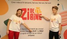 Fondatoarea Asociației Zi de Bine, Melania Medeleanu, împreună cu Luciana Zaharia